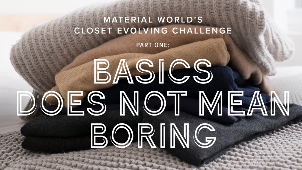 Closet Evolving Challenge: Part One