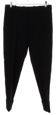 3.1 PHILLIP LIM Black Wool Trousers Pants Size 2