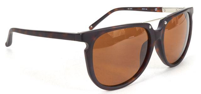 3.1 PHILLIP LIM X Linda Farrow Tortoise Matte Sunglasses