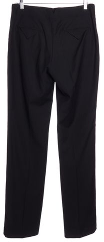 3.1 PHILLIP LIM Black Wool Straight Leg Dress Pants