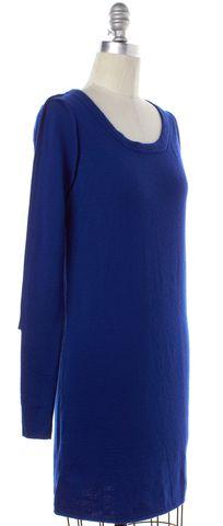 3.1 PHILLIP LIM Blue Wool Sheath Dress Size S