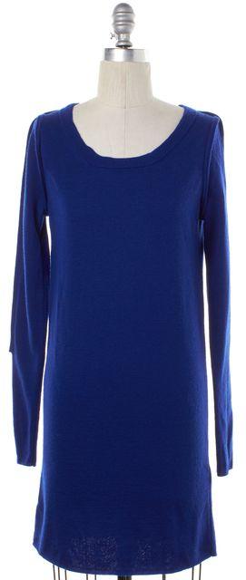 3.1 PHILLIP LIM Blue Wool Sheath Dress