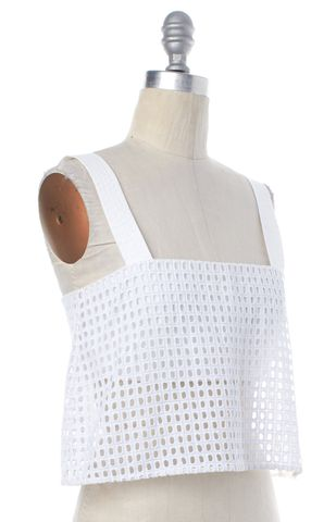 3.1 PHILLIP LIM NEW NWT White Lace Tank Top Size 0
