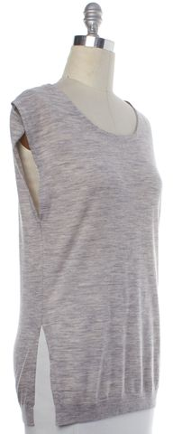 3.1 PHILLIP LIM NWT Gray Wool Knit Top Size S