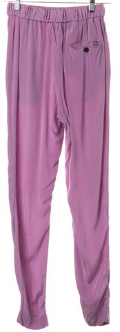 3.1 PHILLIP LIM Lilac Purple Silk Slim Pants