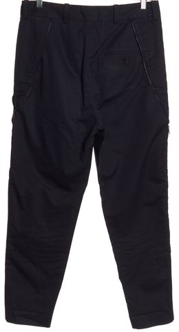 3.1 PHILLIP LIM Navy Blue Zip Detail Pants