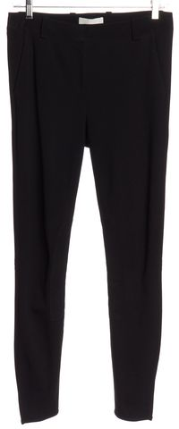 3.1 PHILLIP LIM Black Ponte Moto Leggings Pants