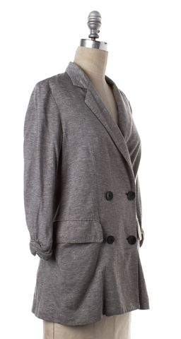 3.1 PHILLIP LIM Heather Gray Lightweight Knit Blazer