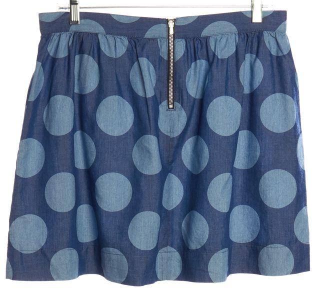 3.1 PHILLIP LIM Blue Polka Dot Skirt