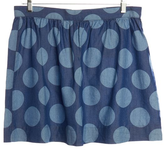 3.1 PHILLIP LIM Blue Polka Dot Skirt