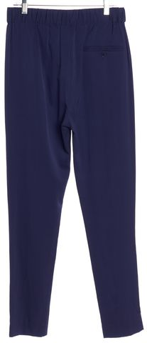 3.1 PHILLIP LIM Cobalt Blue Silk Pleated Slim Pants