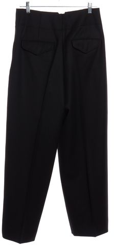 3.1 PHILLIP LIM Black Wool High Waisted Trouser Pants