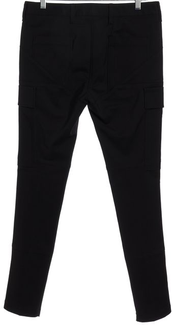 3.1 PHILLIP LIM Black Cargo Pocket Silver Ankle Zip Skinny Pants