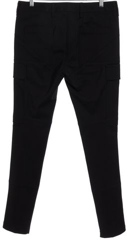 3.1 PHILLIP LIM Black Cargo Pocket Silver Ankle Zip Skinny Pants