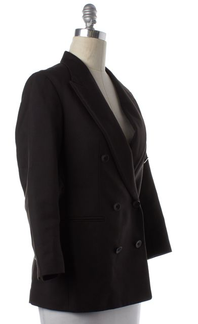 3.1 PHILLIP LIM Navy Blue Double Breasted Blazer