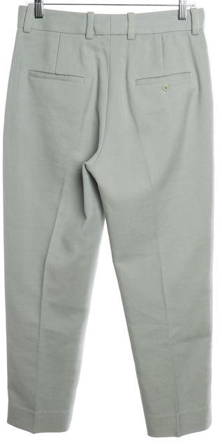3.1 PHILLIP LIM Mint Blue Woven Pencil Leg Pants