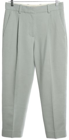 3.1 PHILLIP LIM Mint Blue Woven Pencil Leg Pants