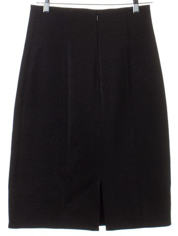 3.1 PHILLIP LIM Black Metallic Textured Pencil Skirt