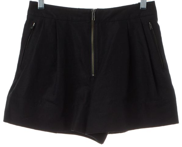 3.1 PHILLIP LIM Black Linen Casual Shorts
