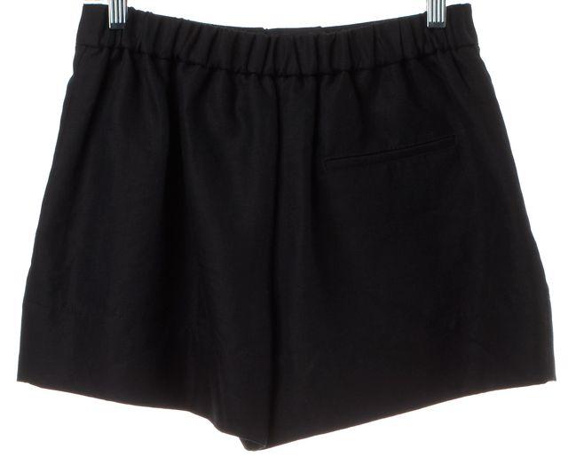 3.1 PHILLIP LIM Black Linen Casual Shorts