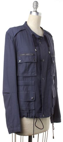 3.1 PHILLIP LIM Blue Zip Up Jacket
