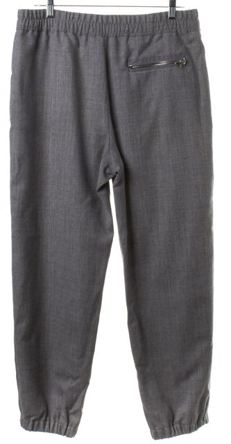 3.1 PHILLIP LIM Light Gray Wool Drawstring Pants