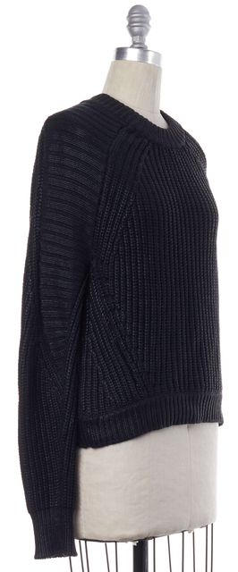 3.1 PHILLIP LIM Black Knit Crewneck Sweater