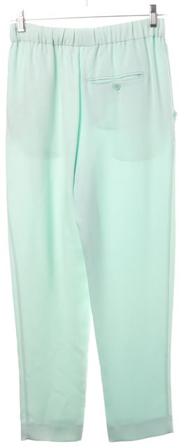 3.1 PHILLIP LIM Mint Green Silk Trousers Pants Size Fits Like