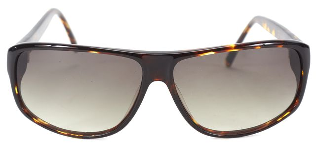 3.1 PHILLIP LIM Brown Tortoise Acetate Smal Rectangle Bree Sunglasses