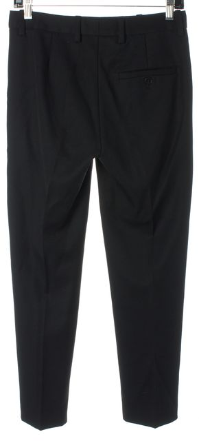 3.1 PHILLIP LIM Black Wool Cropped Dress Trousers Pants