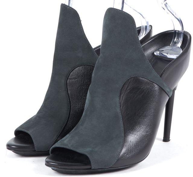 3.1 PHILLIP LIM Black Suede Slip-on Heels