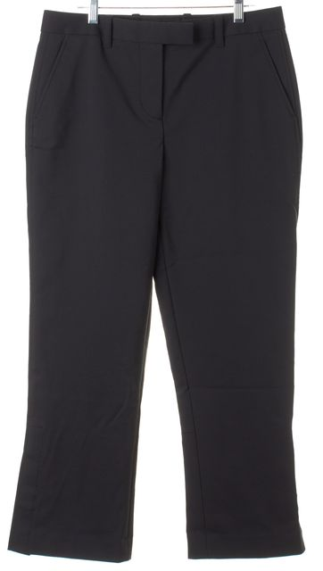 3.1 PHILLIP LIM Black Cropped Trouser Dress Pants