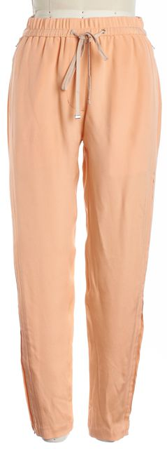 3.1 PHILLIP LIM Orange Silk Slim Drawstring Pants