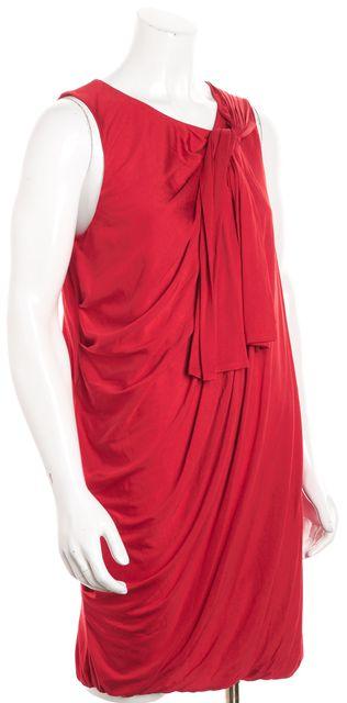 3.1 PHILLIP LIM Red Silk Bubble Dress