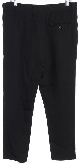 3.1 PHILLIP LIM Black Front Pleat Cropped Dress Pants