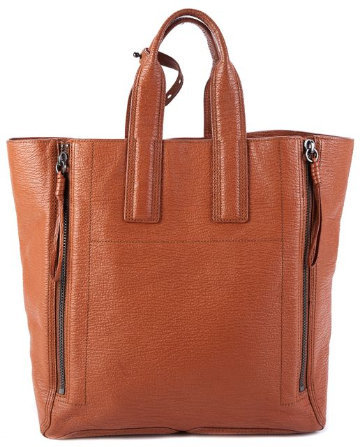 3.1 PHILLIP LIM Brown Leather Top Handle Tote Bag