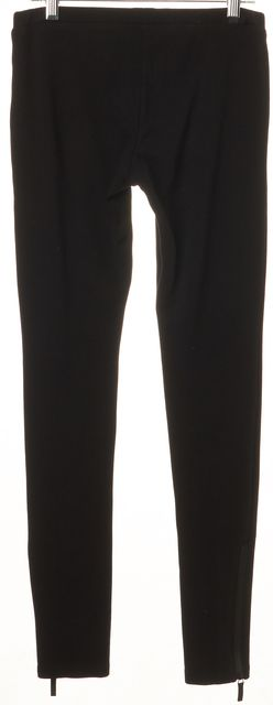 GUCCI VIAGGIO Black Ankle Zip Detail Casual Pant Leggings