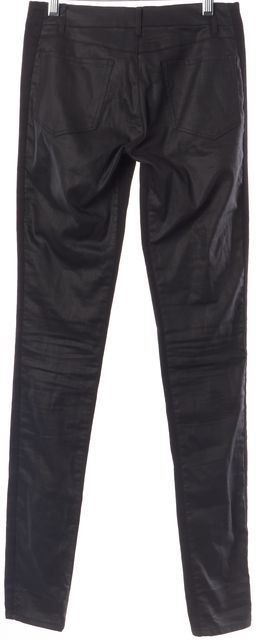 3X1 Black Coated Combo Casual Slim Fit Skinny Stretch Jeans