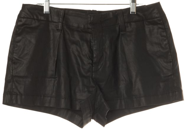7 FOR ALL MANKIND Black Casual Lyocell Shorts