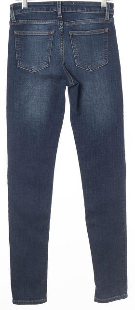 ACNE STUDIOS Blue Skin 5 Used Blue Casual Slim Fit Skinny Stretch Jeans