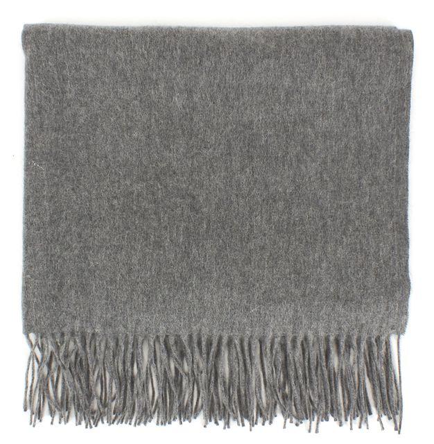ACNE STUDIOS Gray Virgin Wool Large Scarf