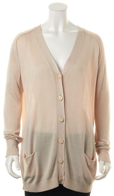 ACNE STUDIOS Beige Beryl Long Sleeve Oversized Cardigan