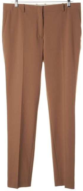 ACNE STUDIOS Brown Three Pocket Polyester Dress Pants