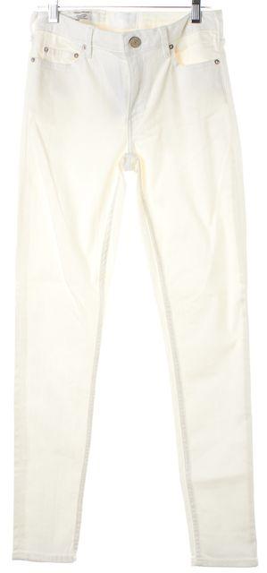 ACNE STUDIOS White Skin 5 Optic Skinny Jeans
