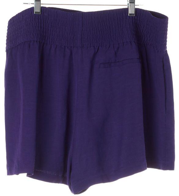ACNE STUDIOS Purple Kyra Li Mix Drawstring Shorts