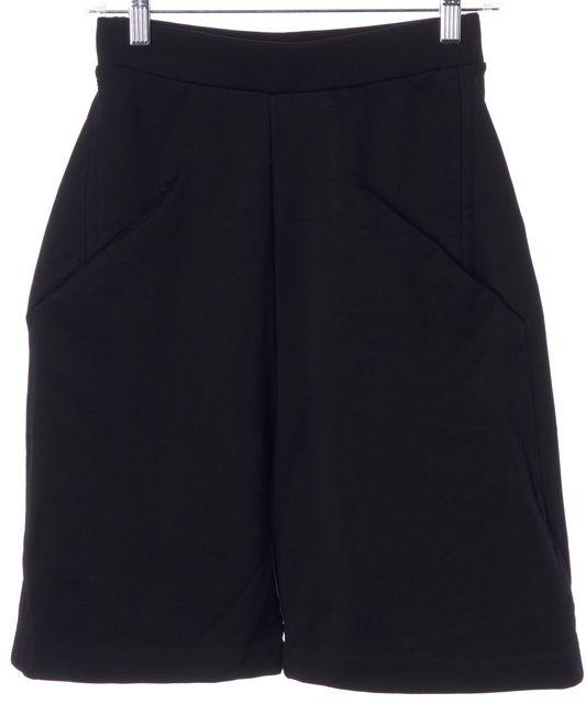 ACNE STUDIOS Black Argia Bermuda Sweatpant Shorts