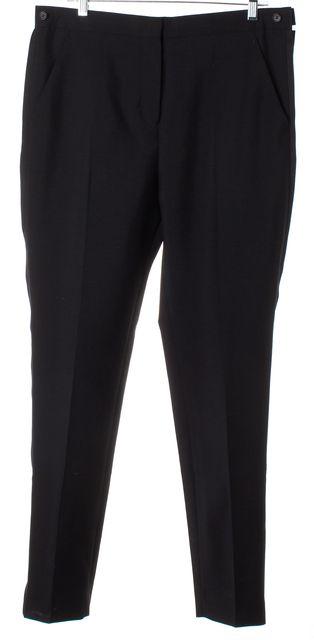 ACNE STUDIOS Black Wool Constant Tux Ankle Zip Trouser Pants