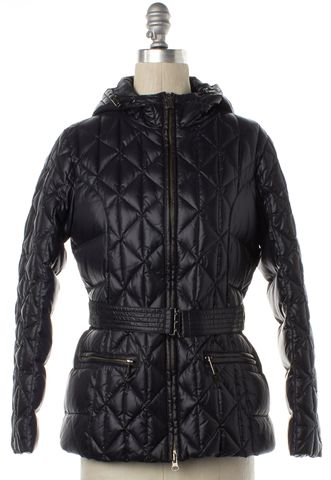 ADD Black Quilted Coal Coat
