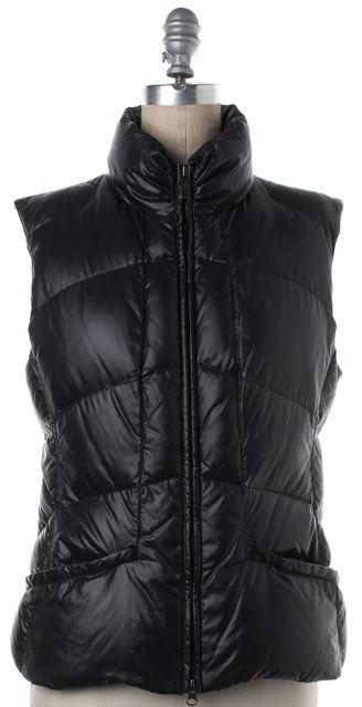 ADD Black Puffer Zip Up Vest