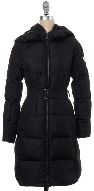 ADD Black Hooded Puffer Jacket